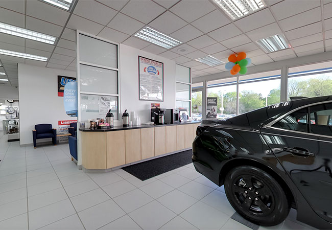 Libertyville Chevrolet Showroom & Coffee
