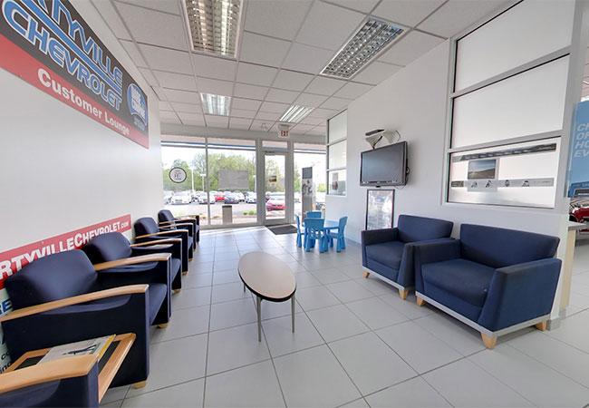 Libertyville Chevrolet Waiting Room
