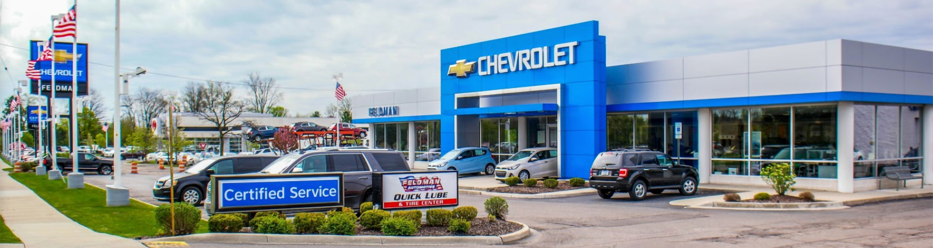 Chevrolet Service Department Feldman Chevrolet Of Novi