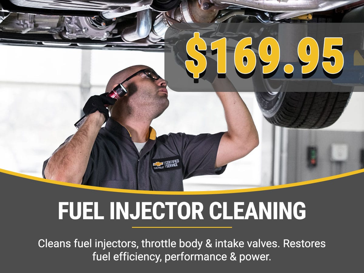Chevy Fuel Injection Cleaning Service