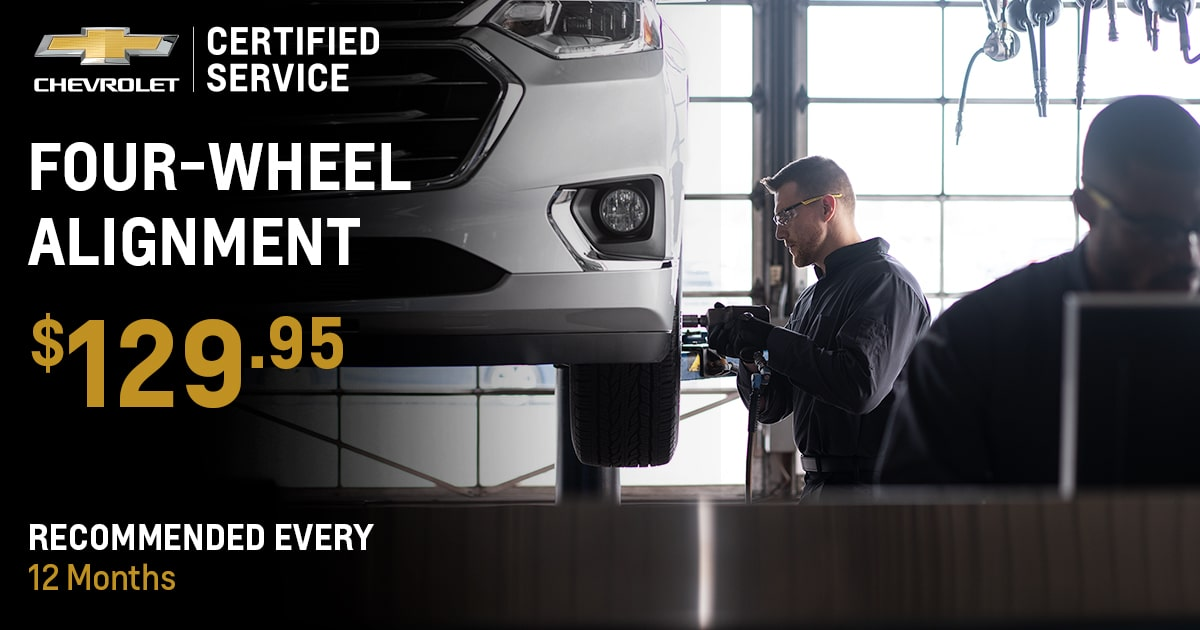 Chevrolet Four-Wheel Alignment Service Special Coupon