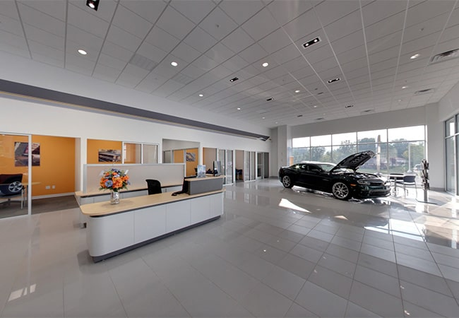 Performance Chevrolet Showroom