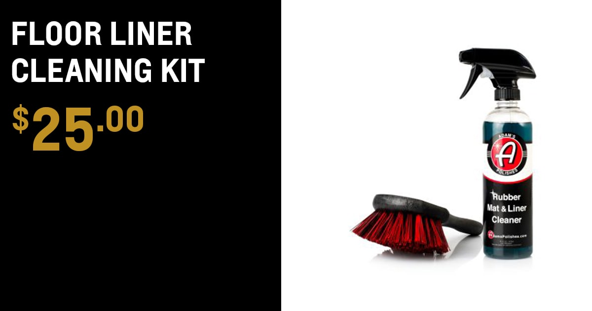 Chevrolet Floor Liner Cleaning Kit Accessory Special Coupon