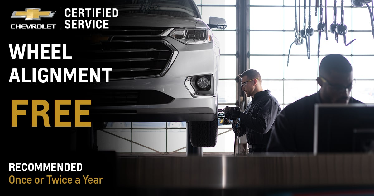 Chevrolet Wheel Alignment Service Special Coupon