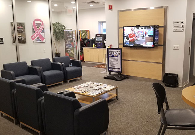 Raceway Chevrolet Waiting Room