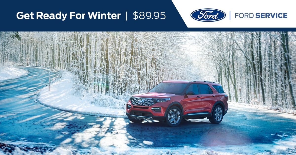 Ford Ready For Winter Special Coupon