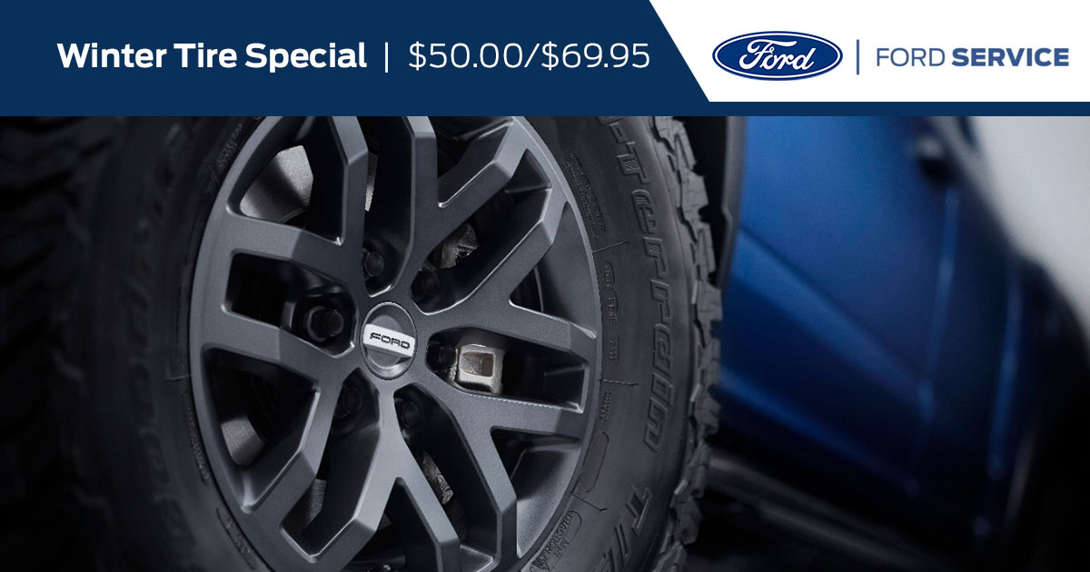 Ford Winter Tires Special Coupon