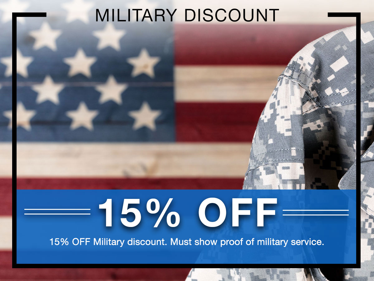 Military Discount Special Coupon
