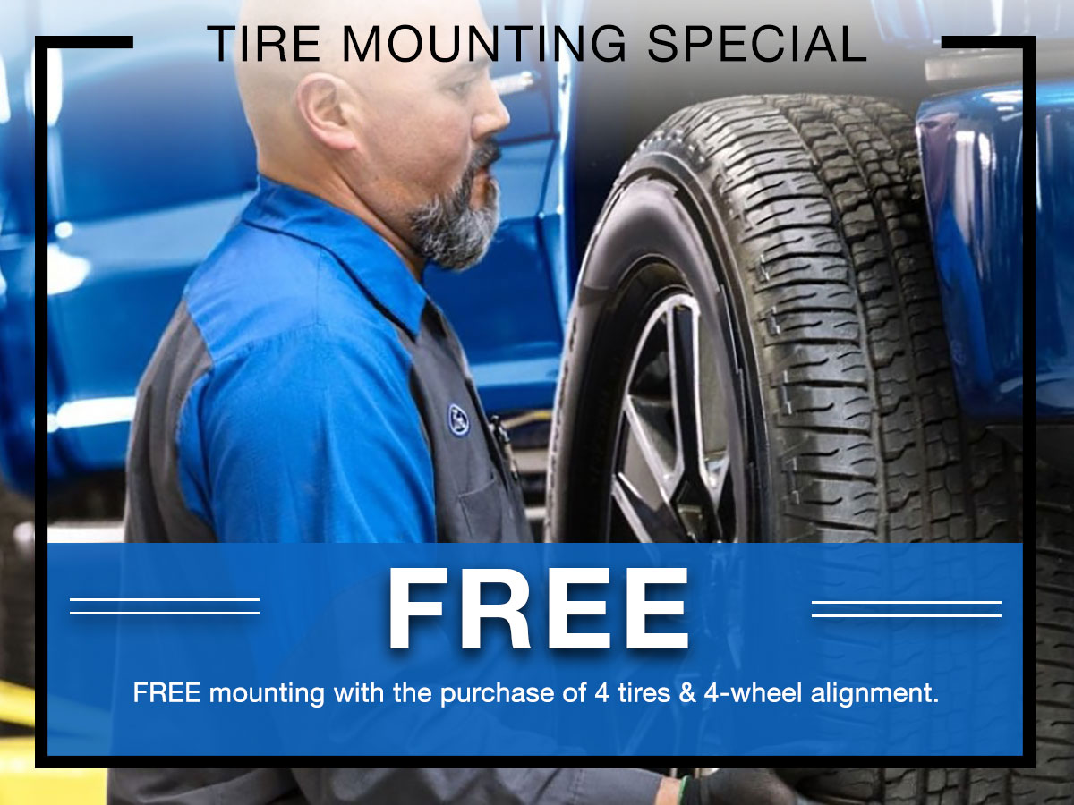 Ford Tire Replacement Service Special Coupon