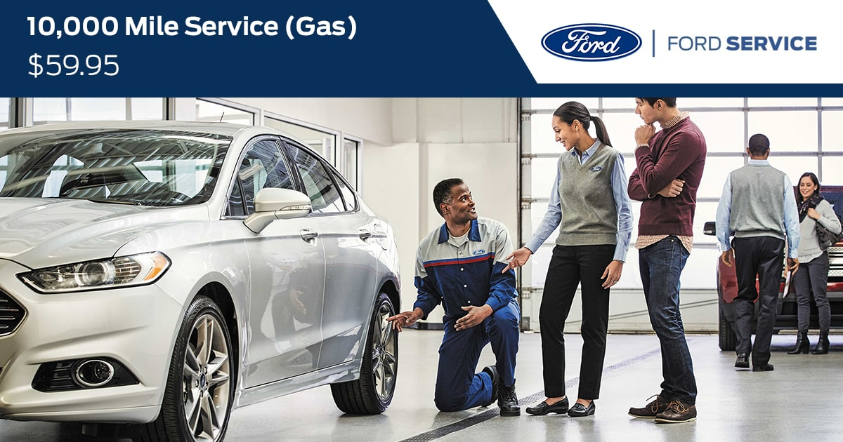 Ford 10,000 Mile Service (GAS) Service Special Coupon