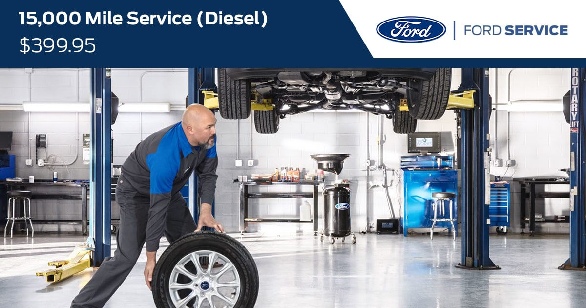 Ford 15000 Mile Diesel Service Special Coupon
