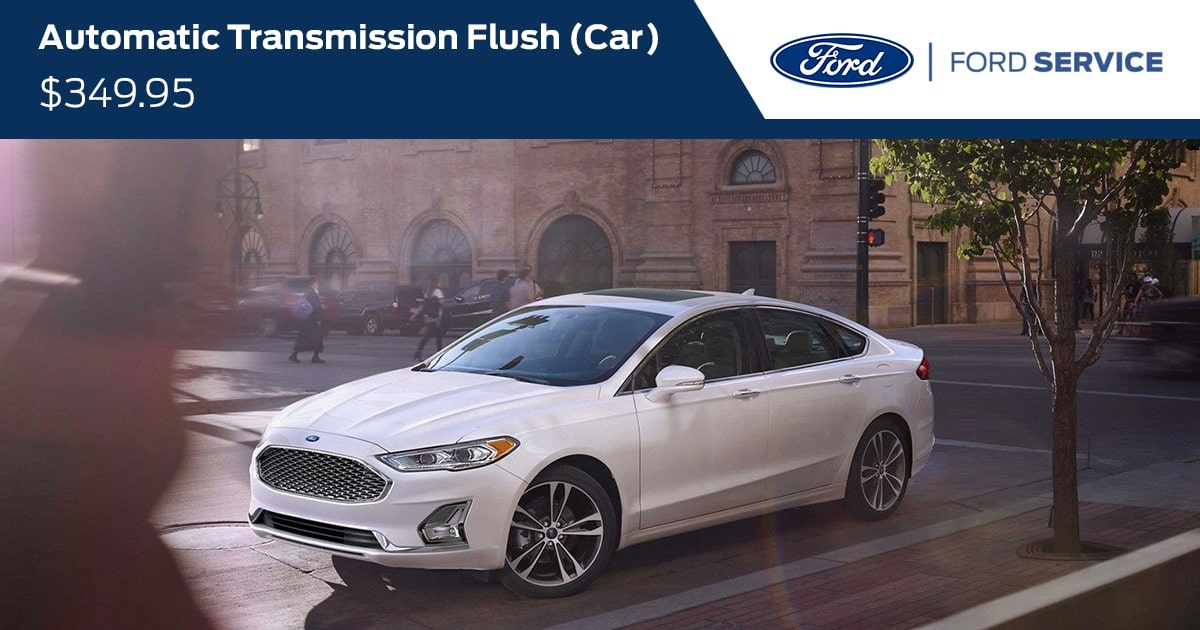 Ford Automatic Transmission Fluid Exchange (Car) Service Special Coupon