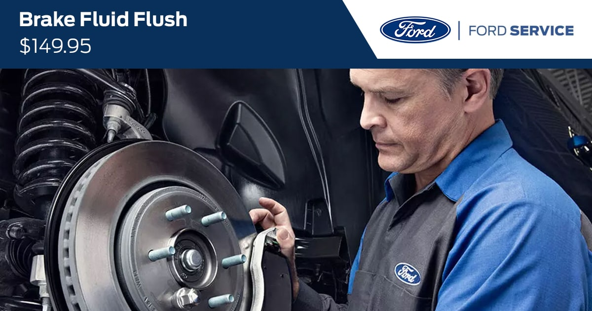 Ford Brake Fluid Flush Service Special Coupon
