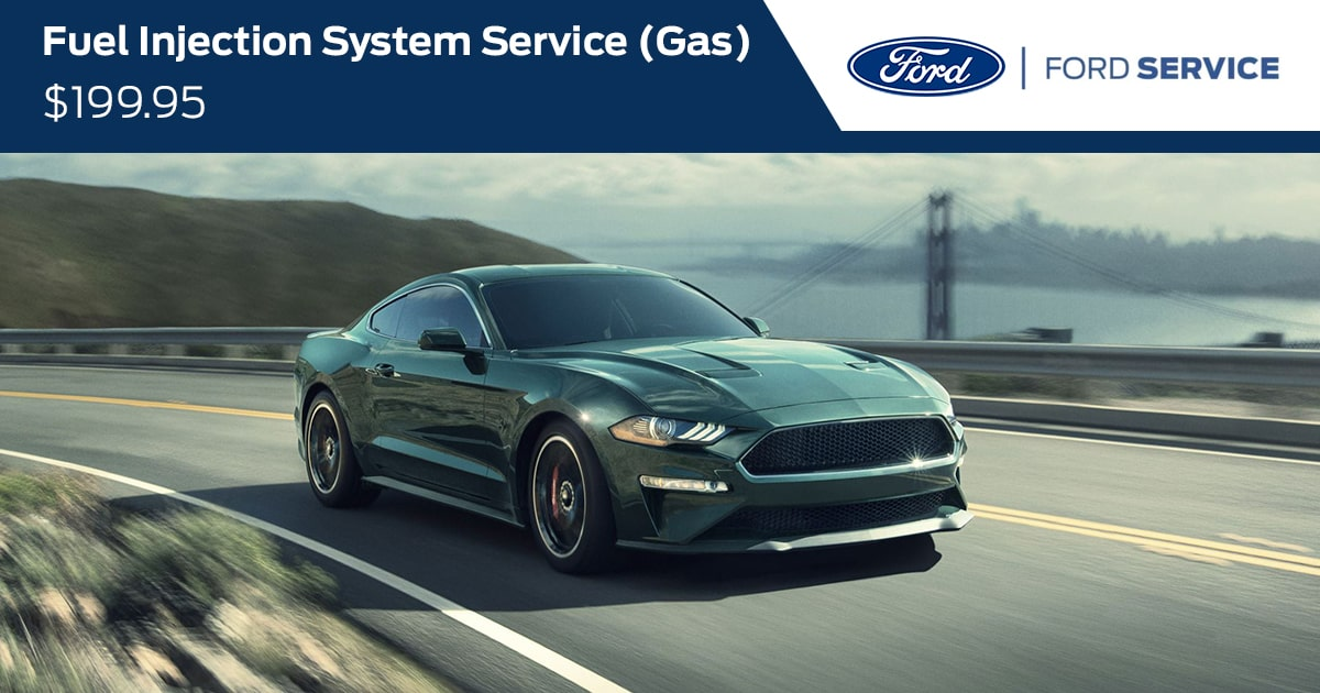 Ford Fuel Injection System Service (GAS) Service Special Coupon