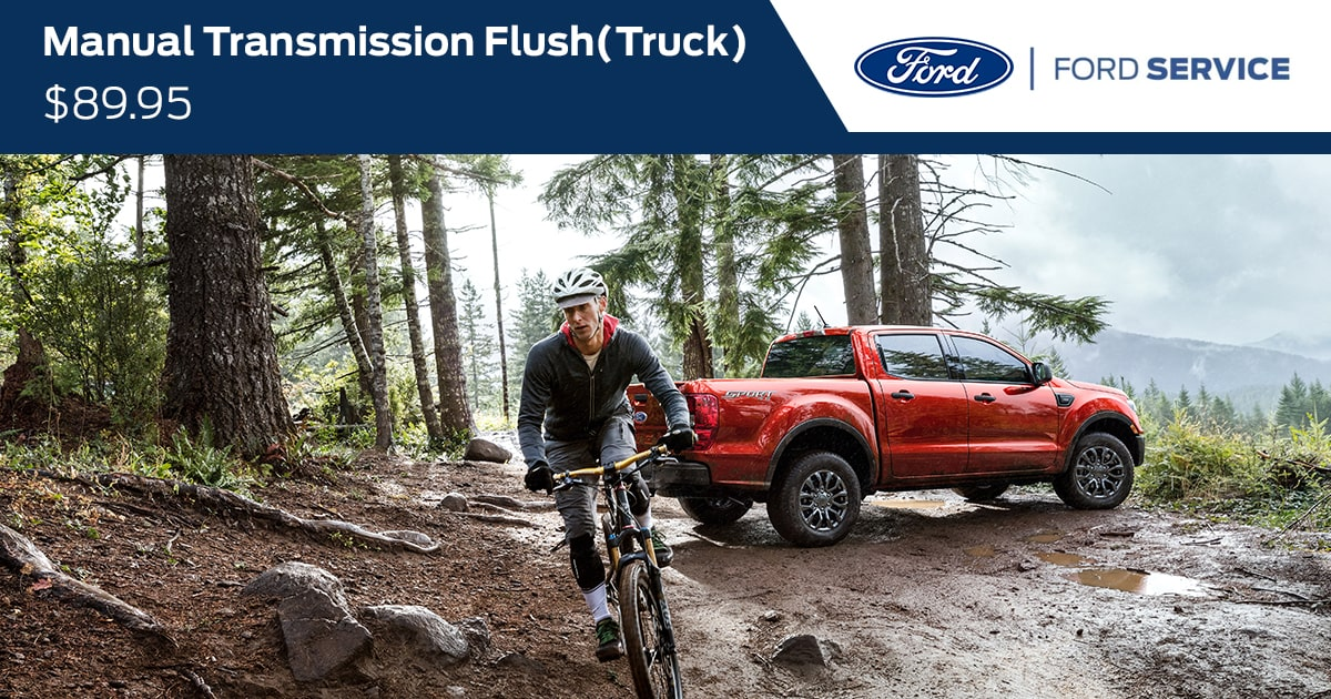 Ford Manual Transmission Fluid Exchange Service Special Coupon