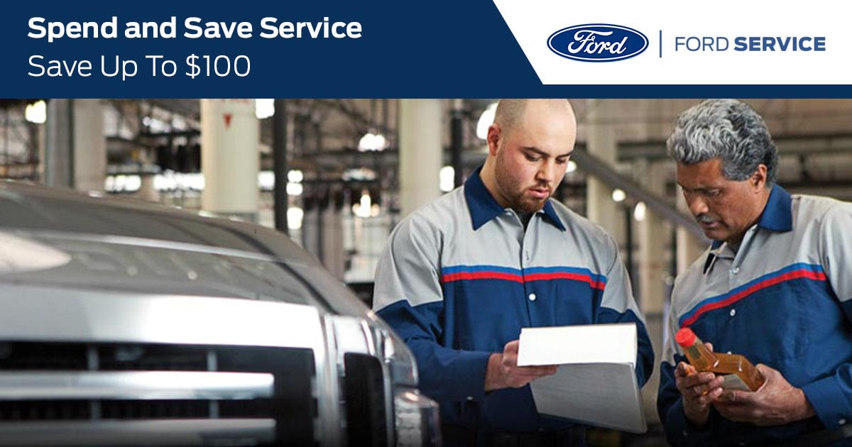 Ford Spend and Save Service Special Coupon