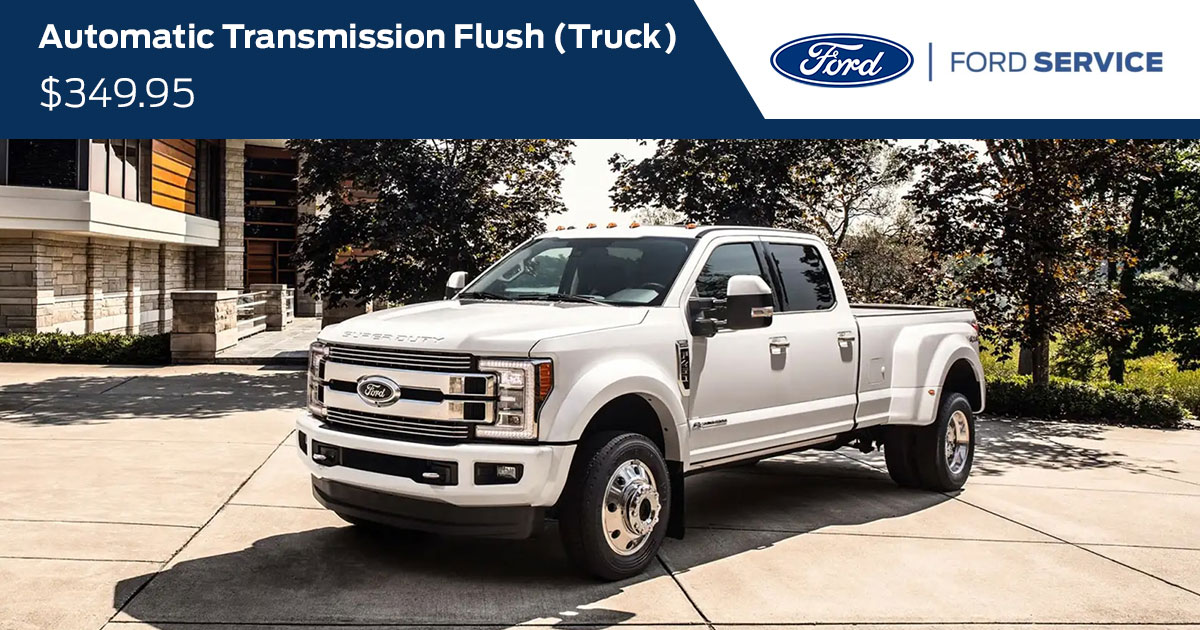 Ford Automatic Transmission Fluid Exchange (TRUCK) Service Special Coupon