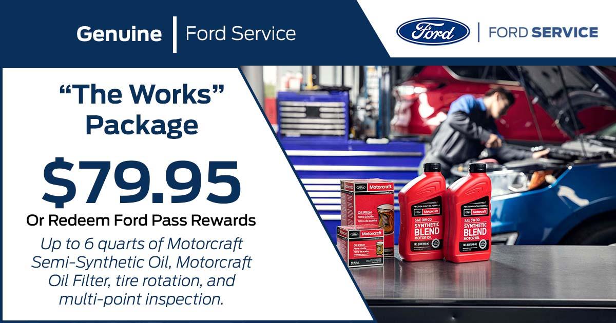 Service Parts Specials Bluebonnet Ford