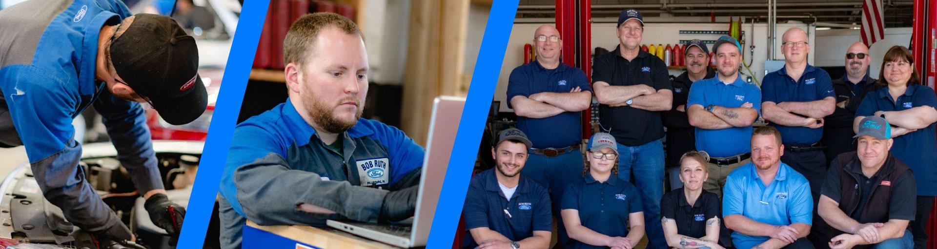 Service & Parts Staff