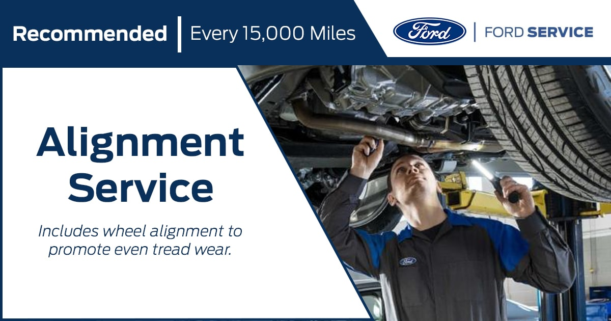 Ford Alignment Service Special Coupon