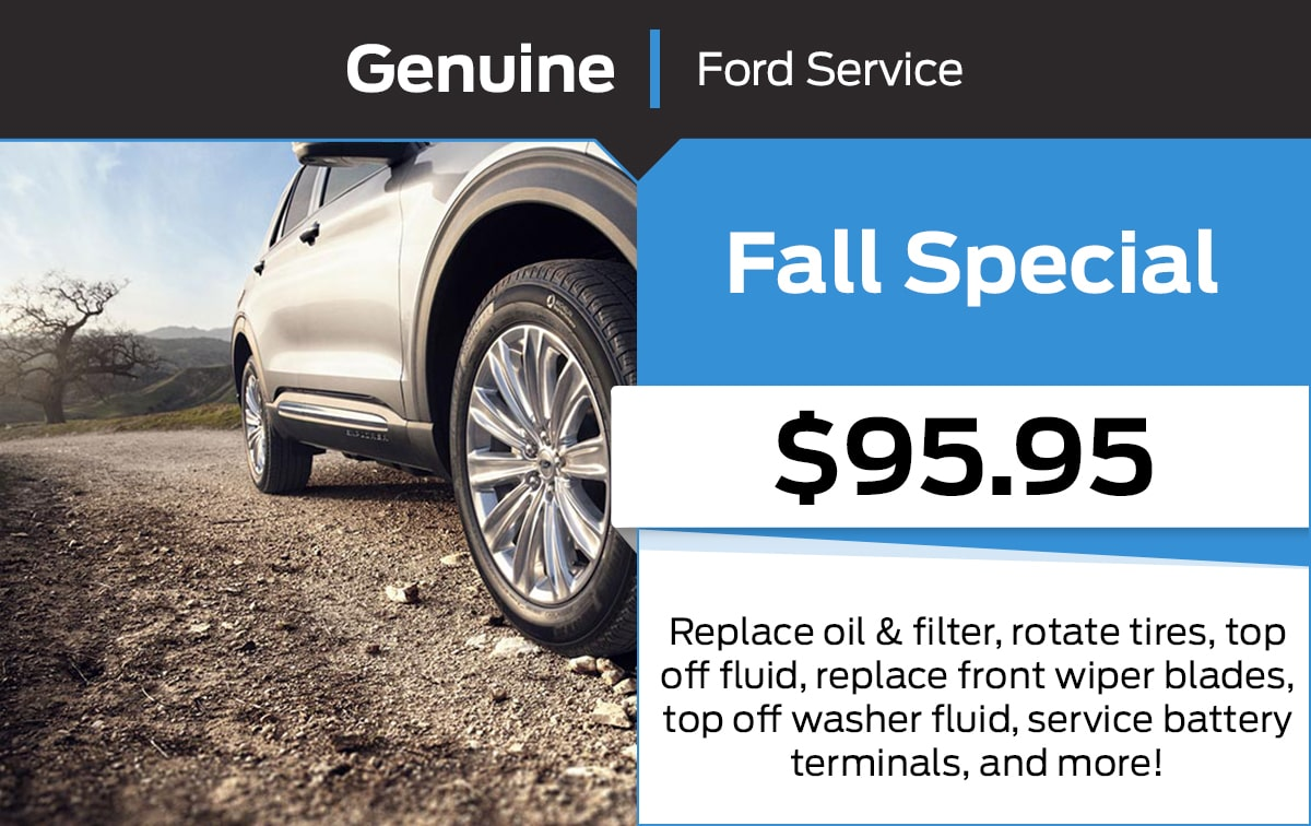 Ford Fall Service Special Coupon