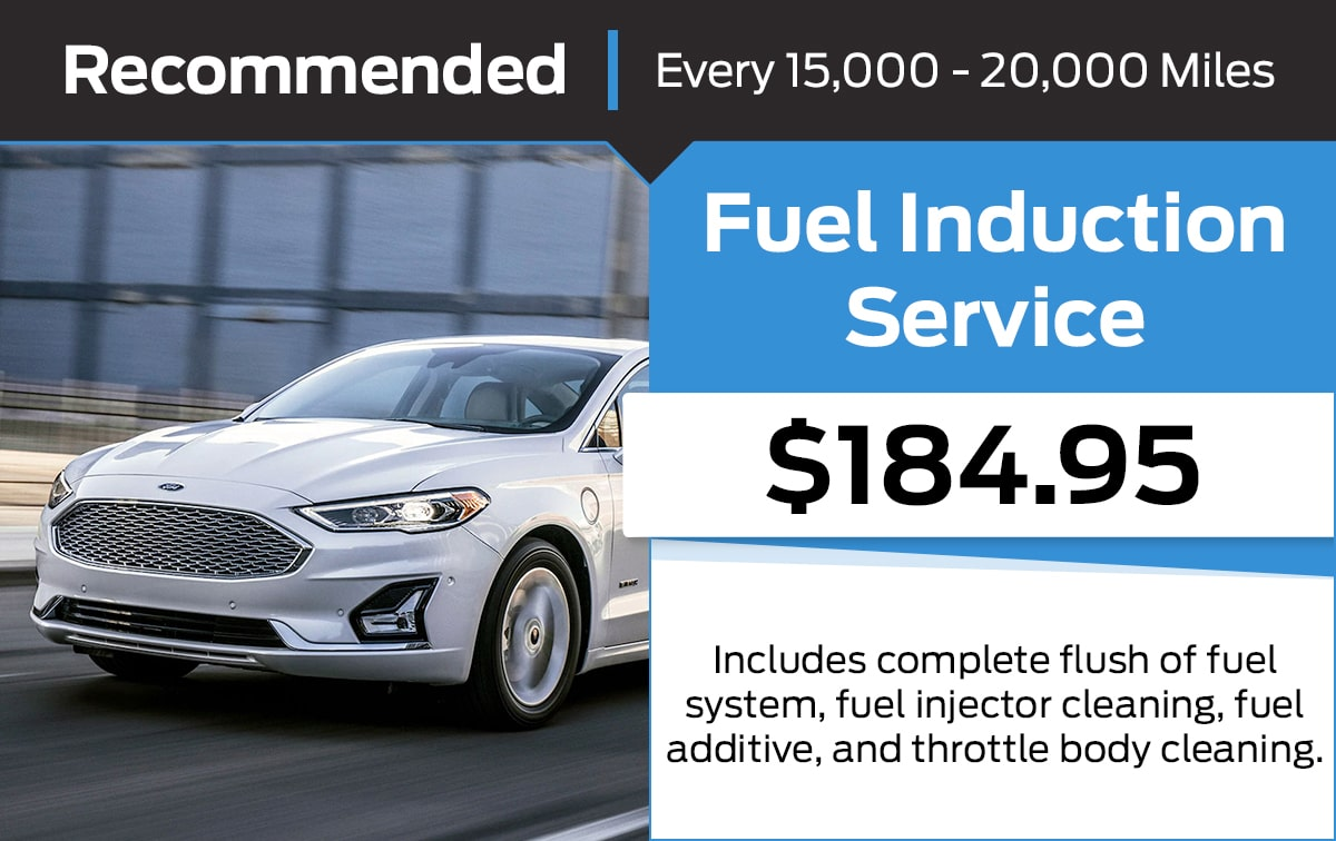 Ford Fuel Induction Service Special Coupon