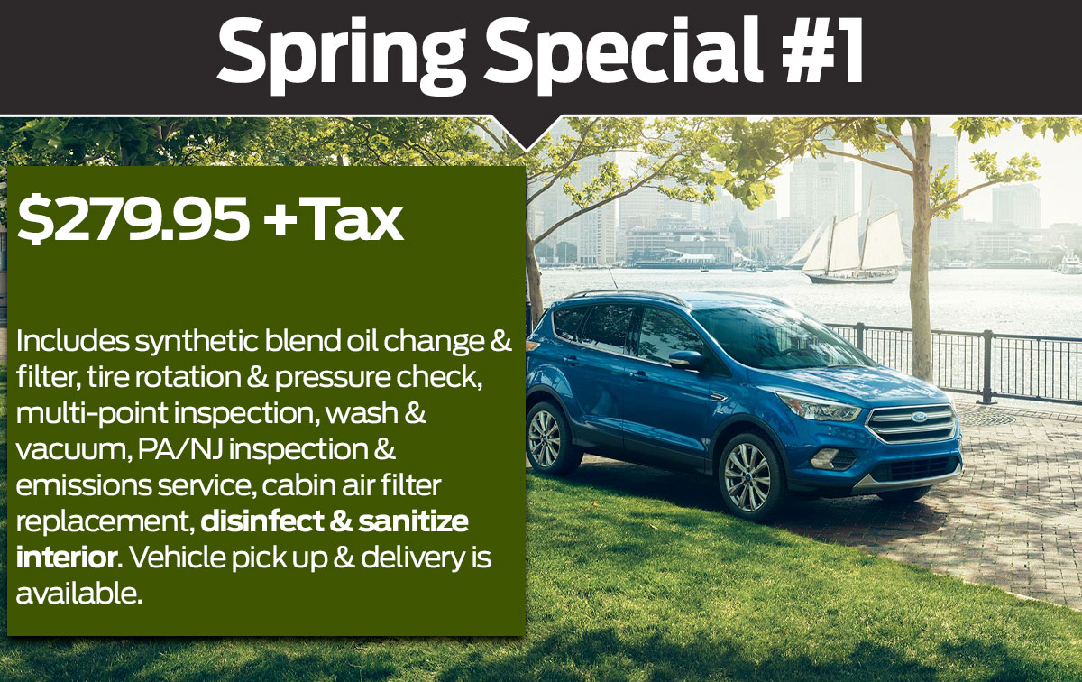 Ford Spring Service Special Coupon