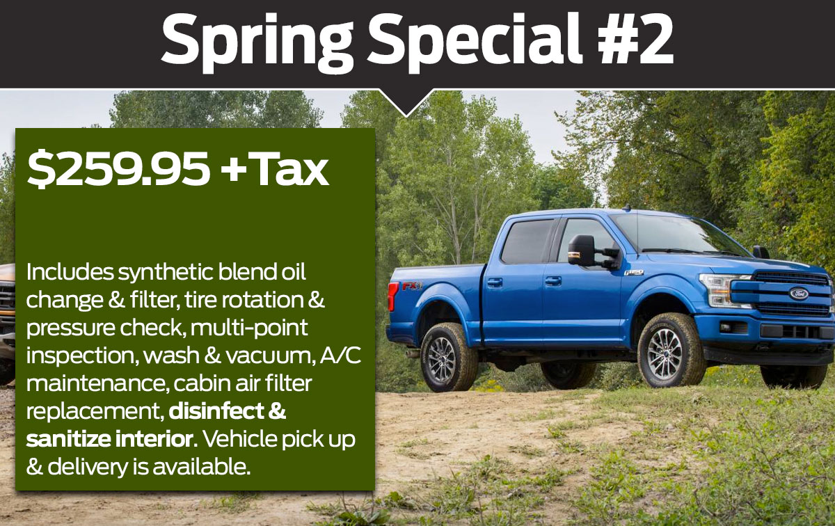 Ford Spring Service Special Offer