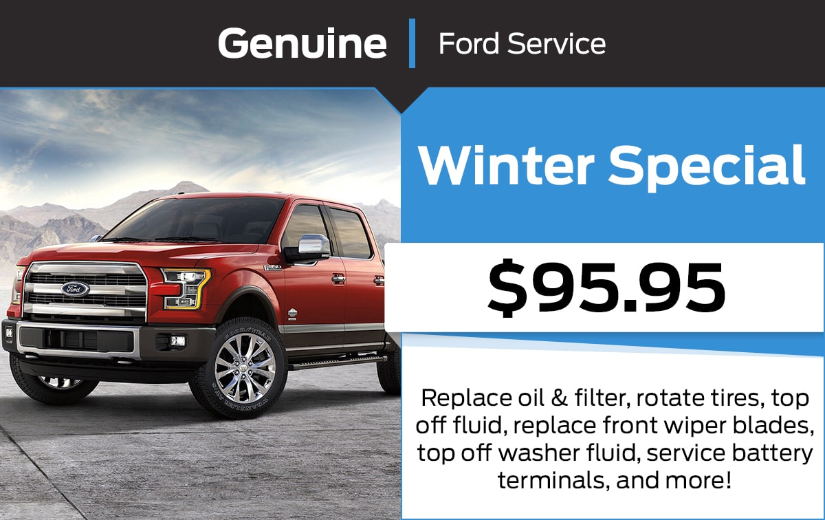 Ford Winter Service Special Coupon