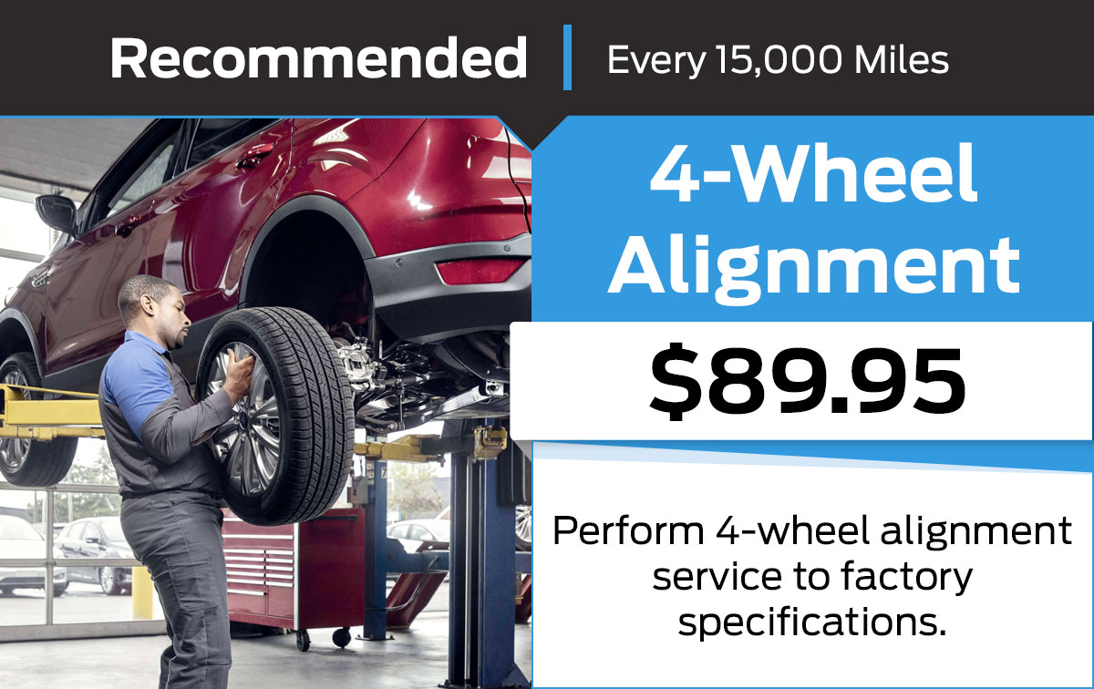 Ford 4-Wheel Alignment Service Special Coupon