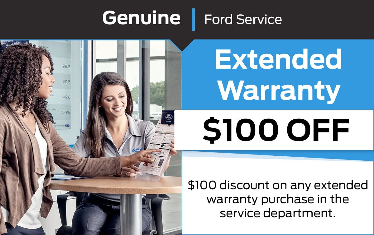 Ford Extended Warranty Service Special Coupon