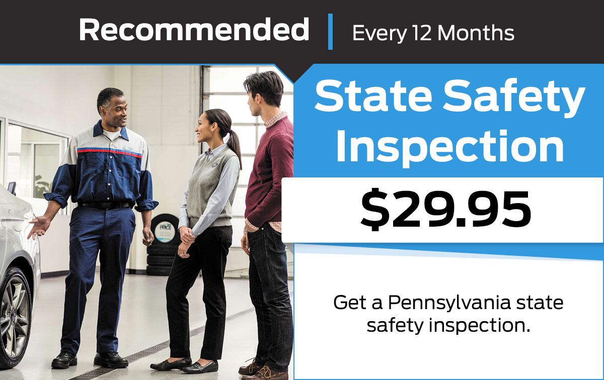 Ford State Safety Inspection Service Special Coupon