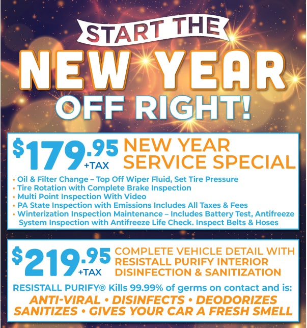 Ford New Year Service Special