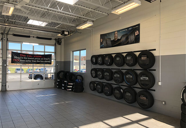Chapman Ford Service Garage
