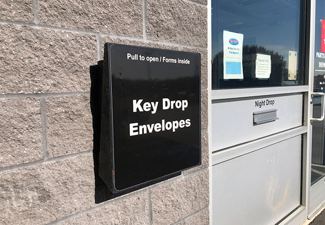 Chapman Ford Key Drop-Off