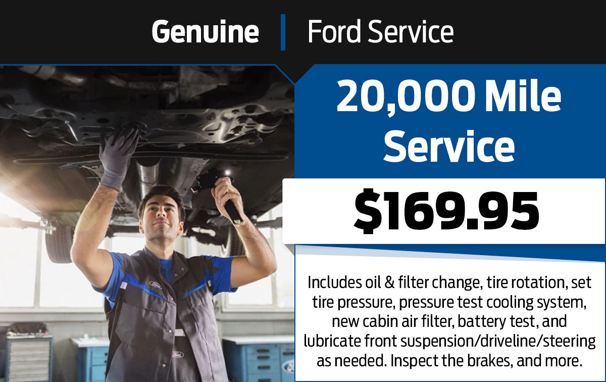 20,000 Mile Service Special Coupon