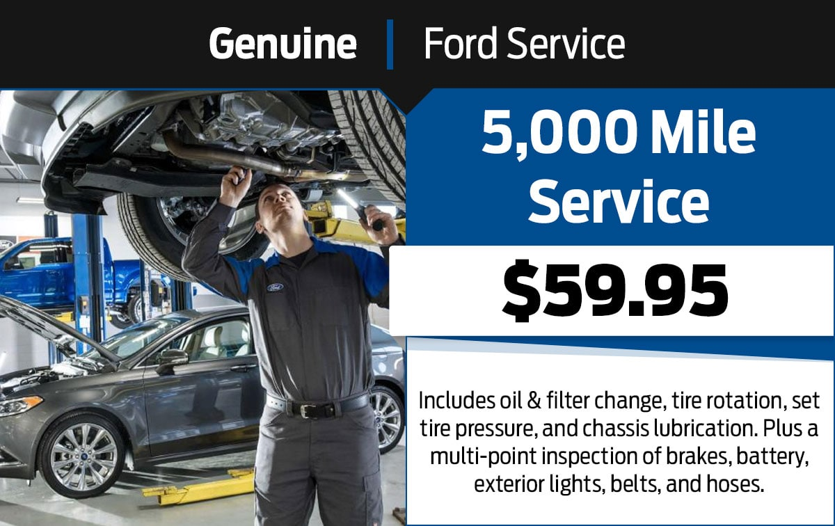 5,000 Mile Service Special Coupon