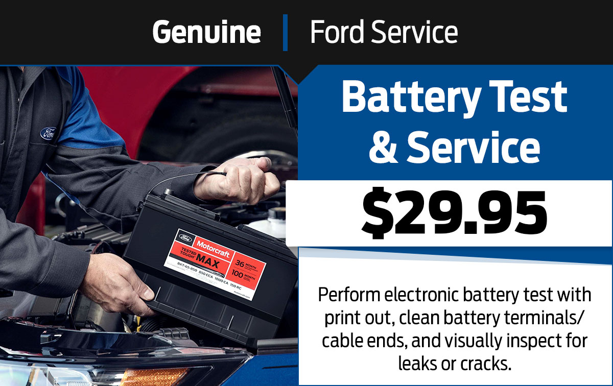 Battery Test & Service Special Coupon