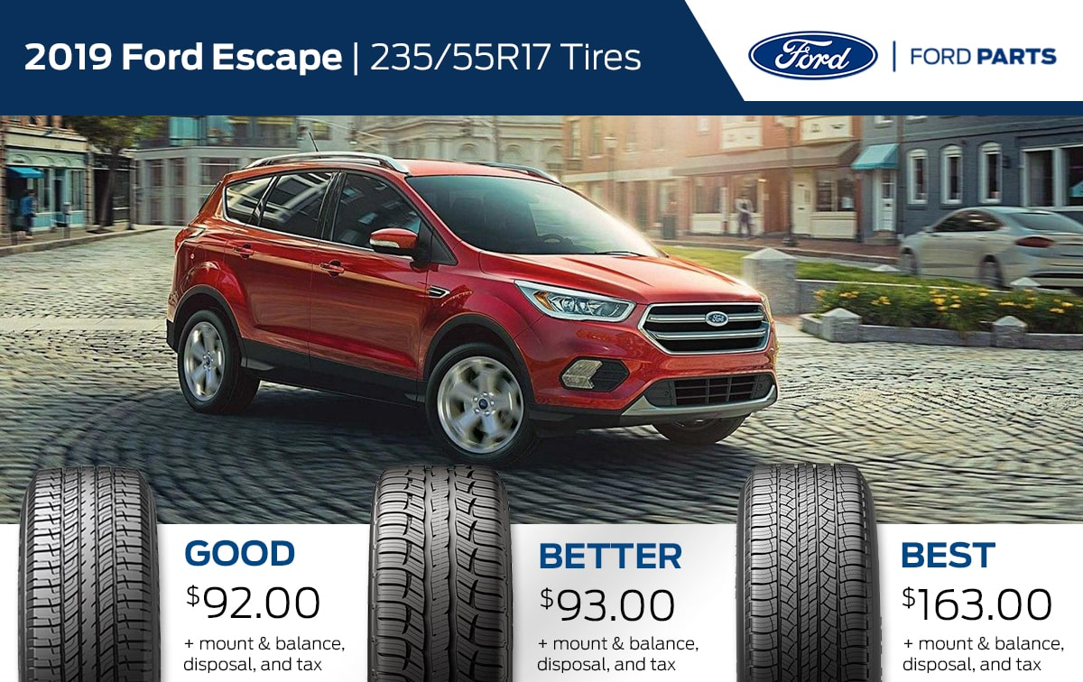 2019 Ford Escape Tire Special