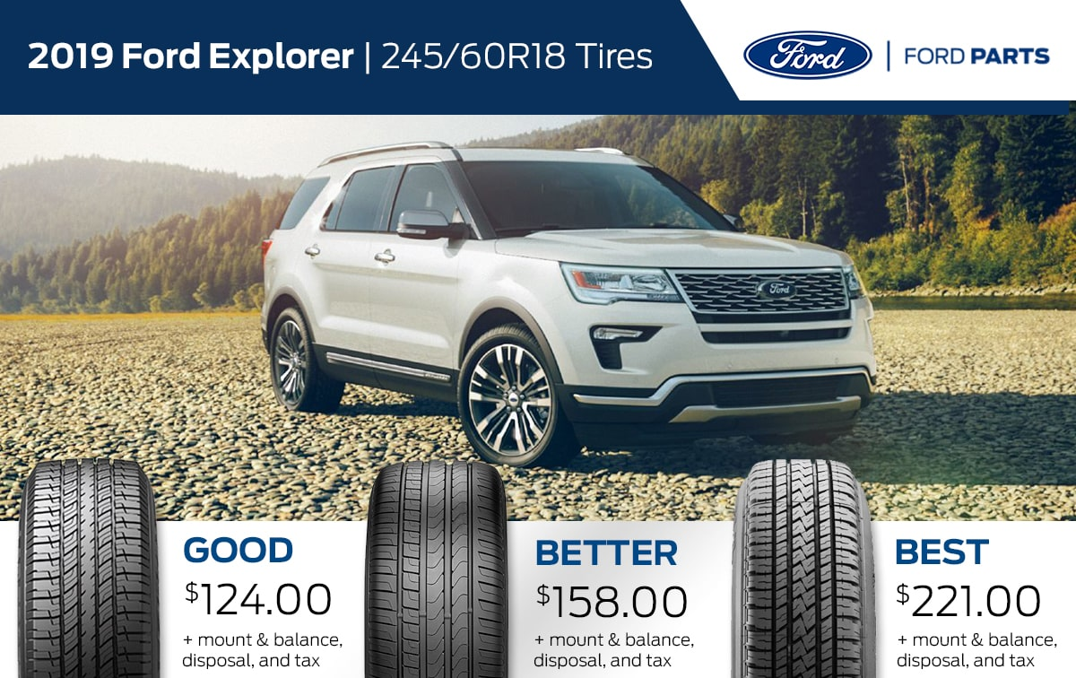 2019 Ford Explorer Tire Special