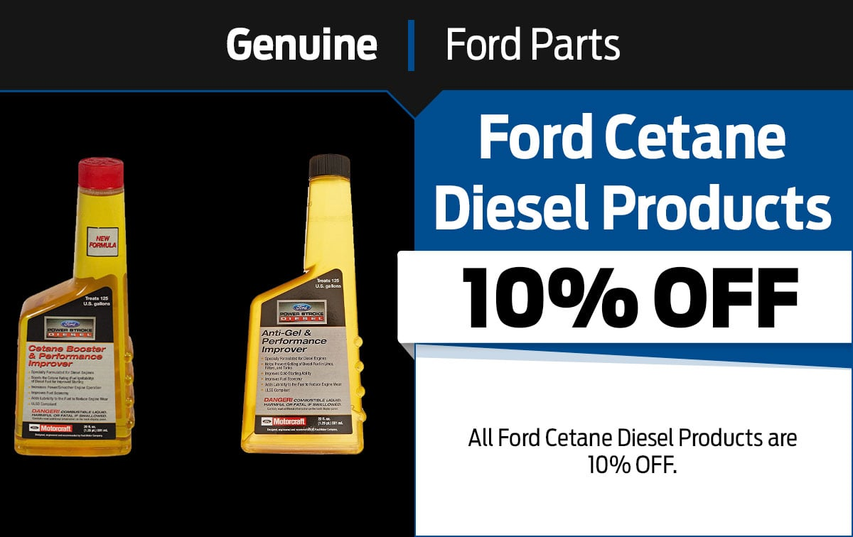 Ford Cetane Diesel Products Special Coupon