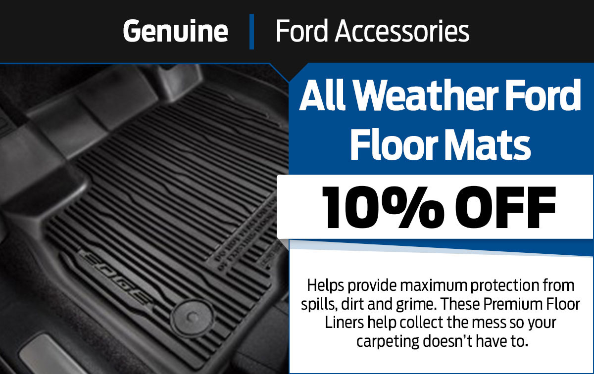 Ford Ford Floor Mats Special Coupon
