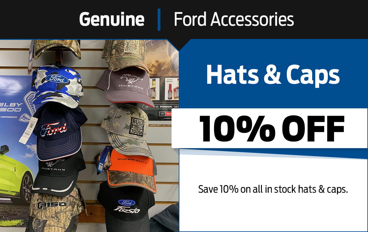 Ford Hats & Caps Special Coupon
