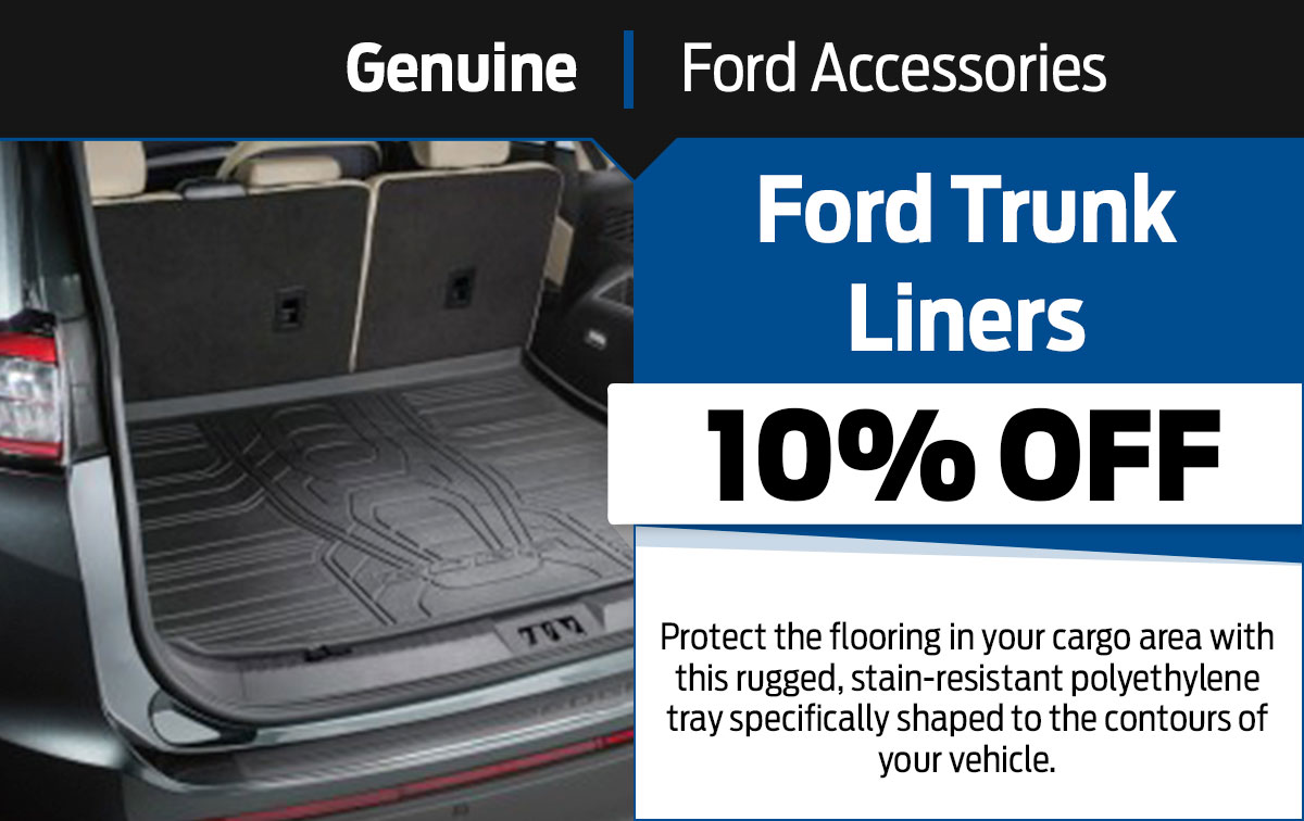 Ford Trunk Liners Special Coupon
