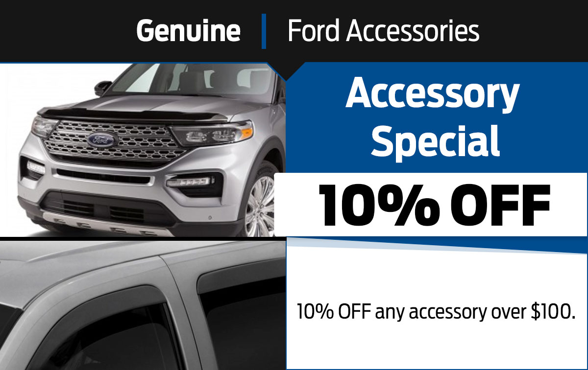 Ford Accessory Special Coupon