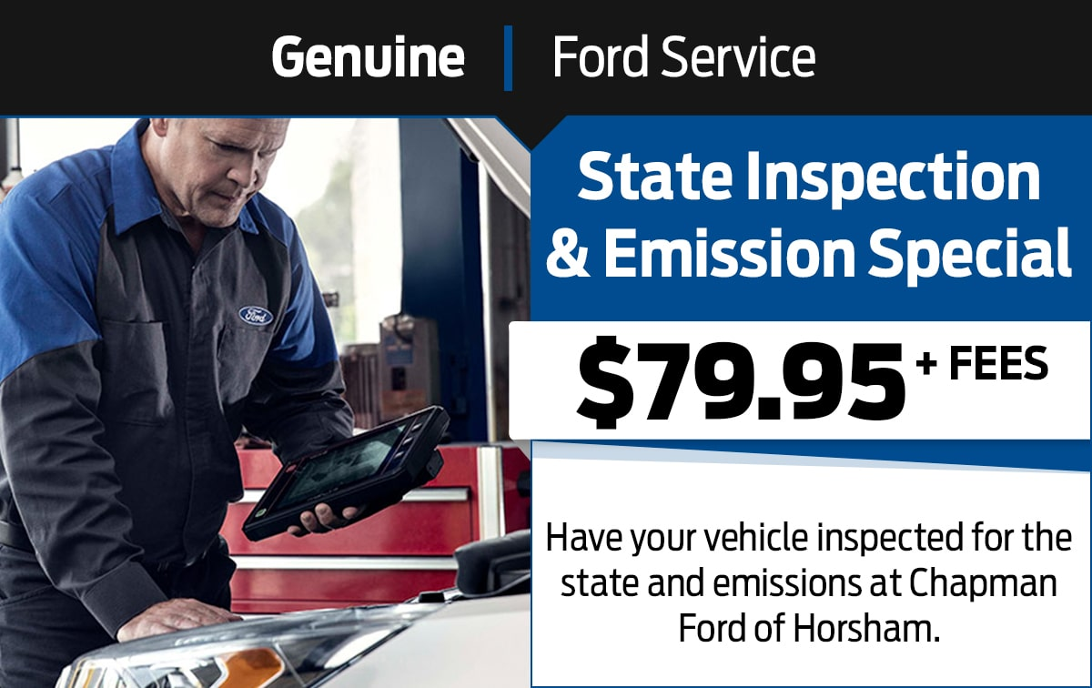 Ford State Inspection & Emission Service Special Coupon