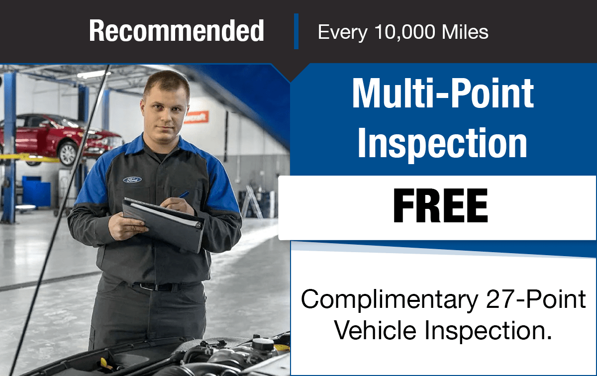 Ford Multi-Point Vehicle Inspection Service Special Coupon