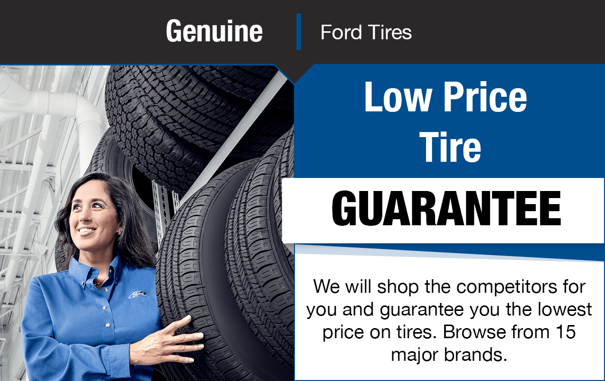 Ford Tire Price Guarantee Service Special Coupon