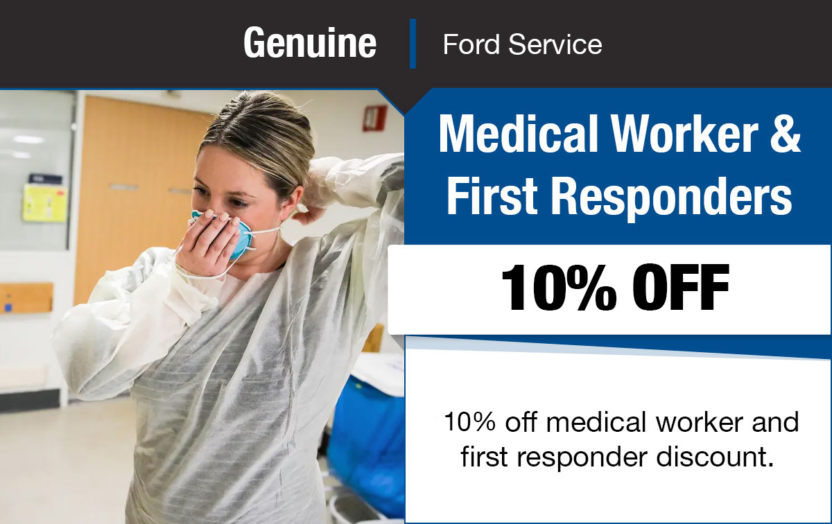 Ford Medical Workers & First Responders Special Coupon