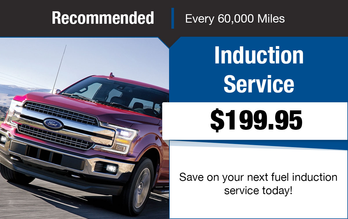 Ford Induction Service Special Coupon